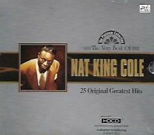The Very Best of Nat King Cole 25 Original Greatest Hits CD HDCD NEW Music