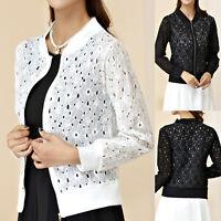 Ladies Womens Blouse Cardigan Dress Coat Jacket UK size 10 12 14 16 18 20 #8479
