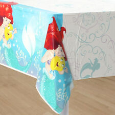"NEW Little Mermaid Ariel Birthday Plastic Table Cover 54"" x 96"" Party Supplies~"