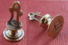 Replica roman bronze trident seal