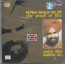 KARNAIL GILL - MUNDA BHALDI HA NIT - NEW SARE GAMA CD - FREE UK POST