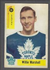 1958-59 Parkhurst Hockey Card #19 Willie Marshall