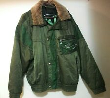Rare Luhta Vintage Arctic Pilot Flight Jacket Made In Finland Men's Size 38