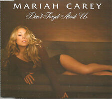 MARIAH CAREY Don't forget about us 2TRX XO Vocal EDIT CD single SEALED USA Seler