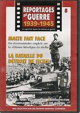 DVD REPORTAGE DE GUERRE 1939-1945 N° 8--DEFENSE MALTE/DETROIT SICILE/CAP MATAPAN