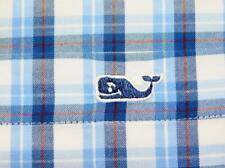 VINEYARD VINES PERFORMANCE SLIM FIT Btn-Down Plaid Long Sleeve Tucker Shirt XL