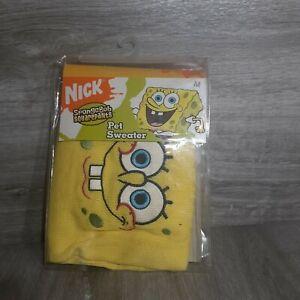 Official Spongebob Squarepants Medium Pet Sweater RARE