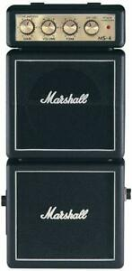 New Marshall MS-4 Micro Stack amplifier Mini Guitar travel amp