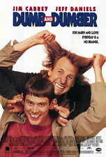 "DUMB & DUMBER Movie Poster [Licensed-New-USA] 27x40"" Theater Size Jim Carrey"