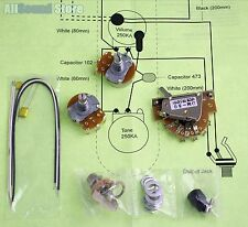 Wiring Kit for Import Fender Telecaster Tele COMPLETE w/ Diagram - Made in Japan