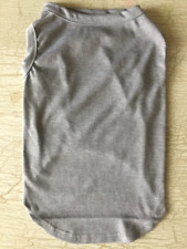 New ListingXl Gray Blank T-Shirt Dog clothes Nwt New! You Customize Decorate Diy X-Large