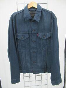 K7643 VTG Levi's Men's Button Down Denim Trucker Jacket Size L