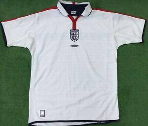ORIGINAL ENGLAND 2003-05 HOME REVERSIBLE FOOTBALL SHIRT SIZE XL ADULT