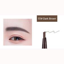 Waterproof Drawing Eye Brow Eyeliner Eyebrow Pen Pencil Brush Makeup Tools UK