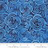 Bahama Batiks Moda cotton batik fabric by half-yard Ocean #4352 17 dark blue
