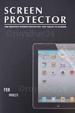 Screen Protector Schutzfolie f Apple iPad 4/3/2 Retina Sofortversand Deutschland