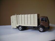 SOLIDO / 1/55 / Camion Benne à Ordures Ménagères / MERCEDES BENZ / 1217 / N°379