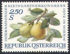 Austria 1972 Fruit/Plants/Trees/Food/Pears/Garden Congress/Nature 1v (n42156)