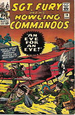 Sgt. Fury and His Howling Commandos Comic Book #19 Marvel 1965 VERY FINE-