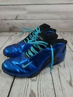 Nike Flight Men's Basketball Running Shoes Size 10.5 Blue Athletic Sneakers
