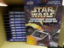 Star Wars Collectible Sticker and Story Album Box #71010 Case of 12 Boxes