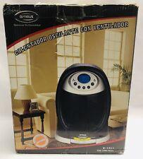 Optimus H-1411 1500W Digital Oscillating Fan - Black