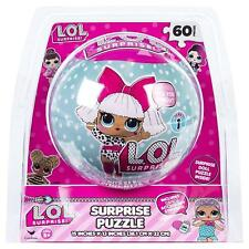 LOL Surprise Puzzle Ball Game - 60 Piece Mystery Jigsaw Puzzle Toy Gift