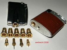"""Ronson Varaflame spare parts, 5 reductions for the old filler valve typ """"A"""""""