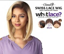 Limited Time SENSATIONNEL SYNTHETIC CLOUD 9 13X6 SWISS LACE FRONT WIG - CHRISSY