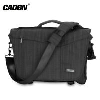 CADEN SLR/DSLR Camera Shoulder Bag Lens Tripod Case Bag for Nikon Canon Sony