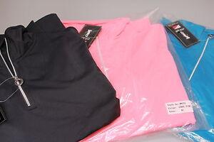 JRB 1/4 Zip Stretch Warm Base Layer Skin Fuchsia, Grey Coral Navy Pink S,M,L,XL
