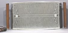 Vintage Hot Ray USA Automatic Food Warmer Warmhalteplatte Teak Glas Selten