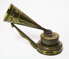 EXTREME RARE STOLLWERCK EUREKA TOY PHONOGRAPH GRAMOPHONE 1903