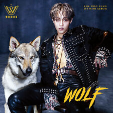 KIM WOOSUNG THE ROSE WOLF 1st mini Album CD + PHOTOCARD SEALED