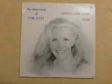 The Piano Music of Cyril Scott - M.A.Verbit - GENESIS Stereo  (01078)