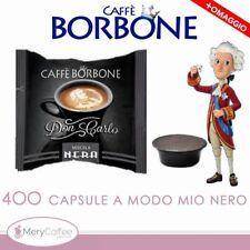 400 Capsule Borbone Don Carlo NERA  Compatibili Lavazza A Modo Mio*+omaggio
