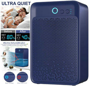 1000ml Mini Air Dehumidifier for Damp Mould Condensation & Moisture Home Dryer