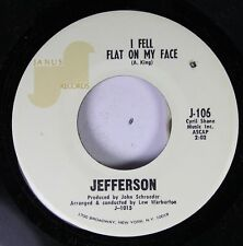 Pop 45 Jefferson - I Fell Flat On My Face / Baby Take Me In Your Arms On Janus R
