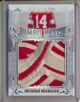 2020 Leaf In The Game Used Jumbo Patch Brendan Shanahan 1/2 Detroit Red Wings