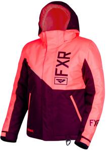 FXR Youth Childs Kids Girls FRESH Sledding SNOW JACKET COAT -Sizes  6 or 8 - NEW