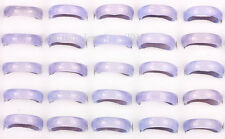 WHOLESALE LOTS 25PCS natural agate gemstone lady's quality RING jewelry free