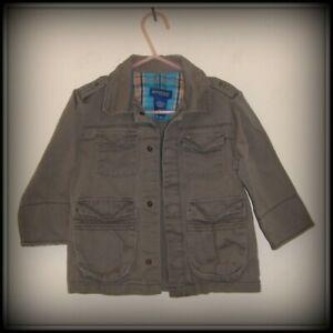 Genuine Kids from Oshkosh, Khaki Combat style jacket, age 18 months