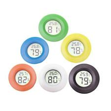 New listing Portable Mini Indoor Lcd Hygrometer Humidity Thermometer Round Temperature Meter