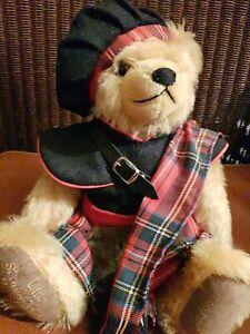 Hermann Sammelbär Little Scotish Bear Teddy