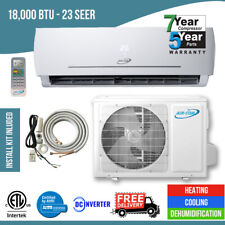 18,000 Btu 23 Seer Ductless Mini Split Air Conditioner Heat Pump