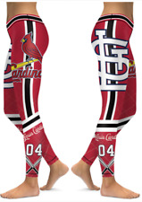 St. Louis Cardinals Small to 2XL Women's Leggings