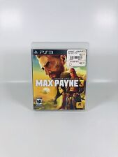 Max Payne 3 (Sony PlayStation 3, 2012) Tested And Complete!
