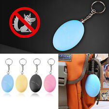 120db Egg Shape Self Anti Defence Lost Anti-Attack Safety Alarm With Key chain