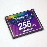 Industrial Grade Transcend 256 MB CompactFlash CF Card 256MB