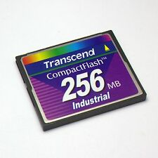 Transcend 256MB CompactFlash CF Card Industrial Grade, CF Card 256MB